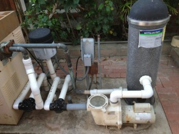 La Jolla Ca New Variable Speed Pool Pump And Pool Filter