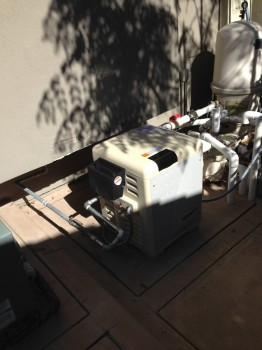 pentair master temp newly installed in la jolla ca