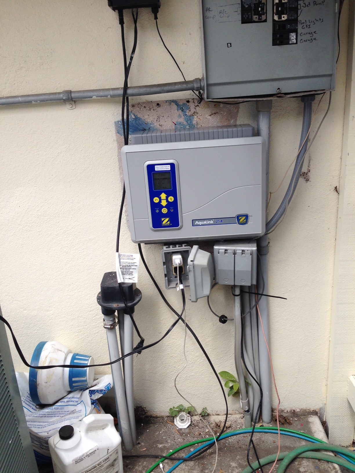 San Diego Pool Automation Installation Jandy Aqualink