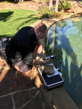 pool leak detection rancho santa fe