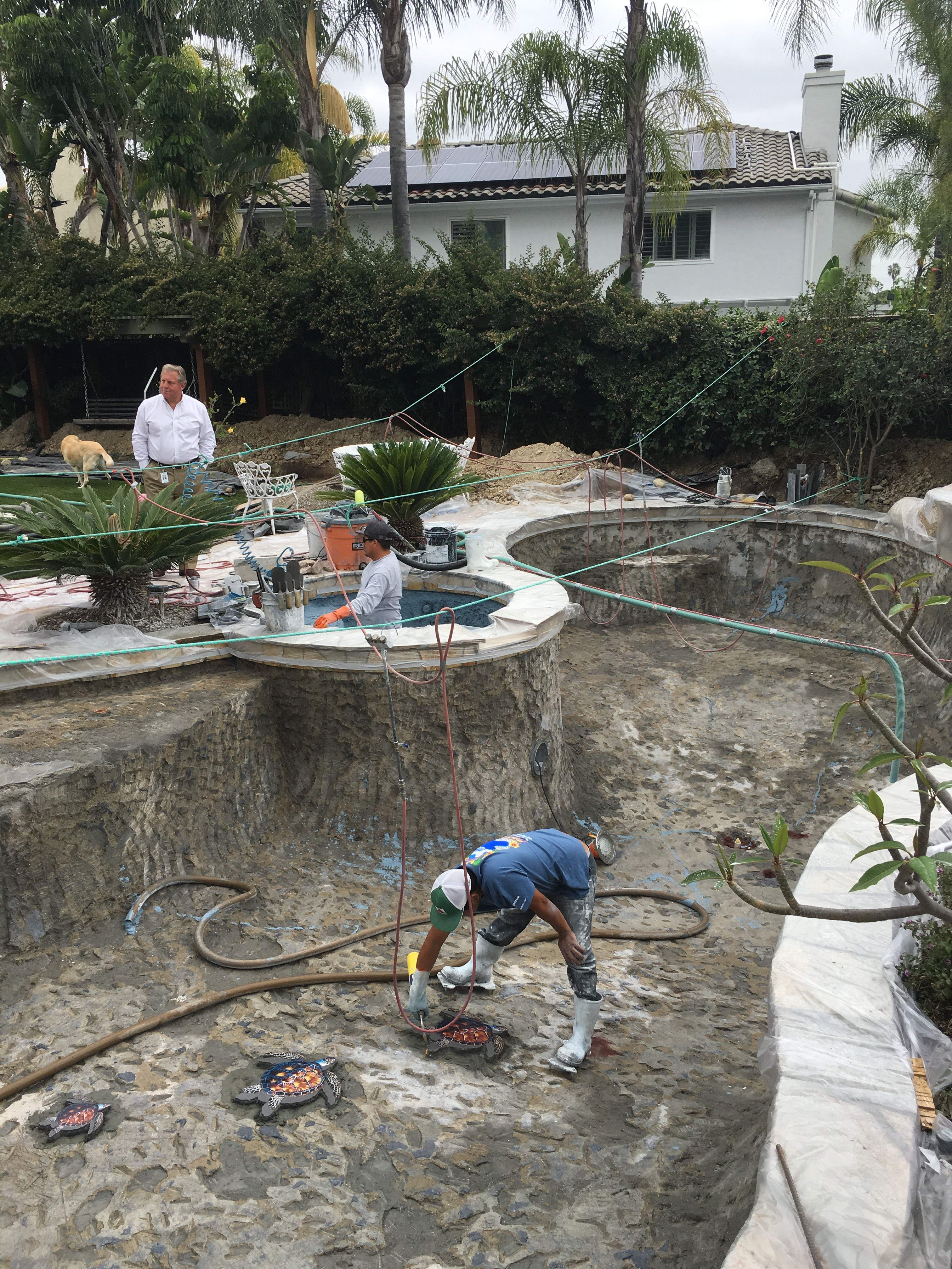 Pool resurfacing in San Diego