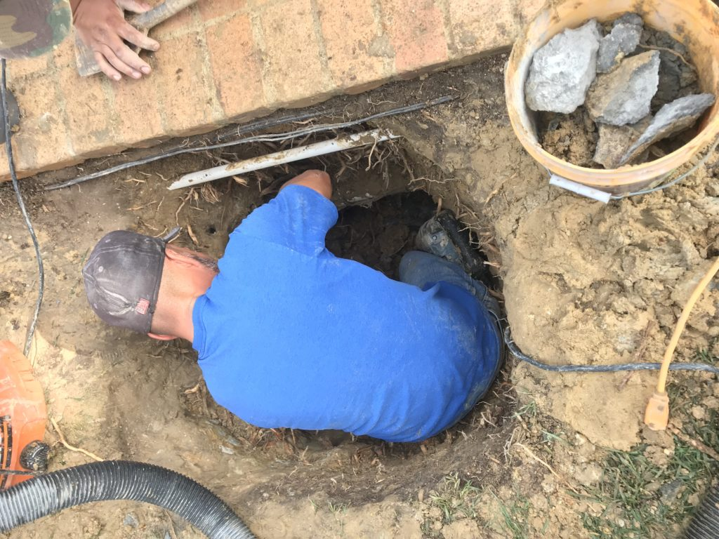 underground pool leak repair