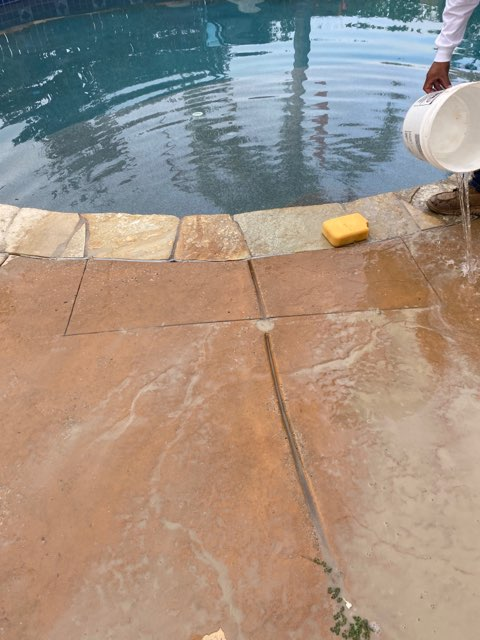 pool leak job