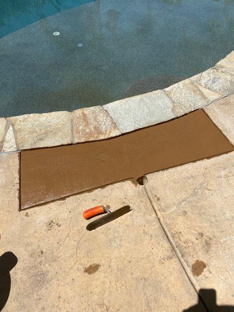 leak repair after picture