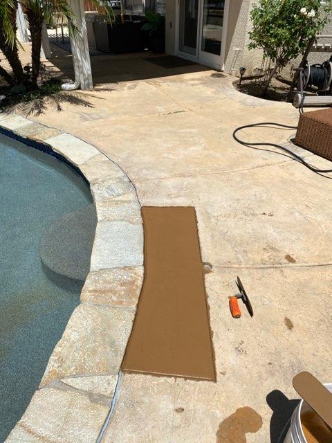leak repair finished job