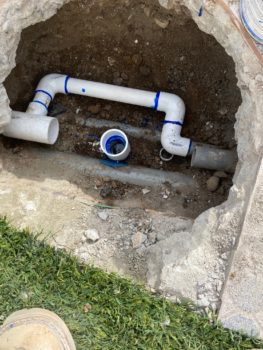underground leak repair